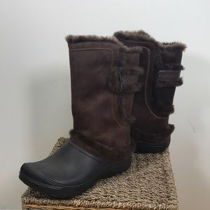 Earth 'Astrid' Vegan Fur lined Snow Boots